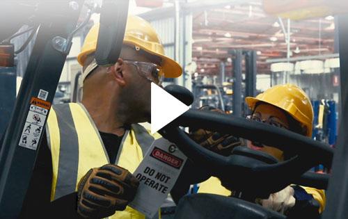 Forklift Safe Operations Video eLearning